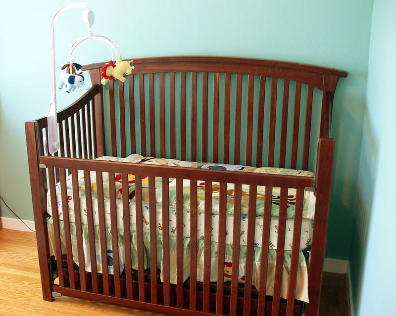 Modern cribs for baby