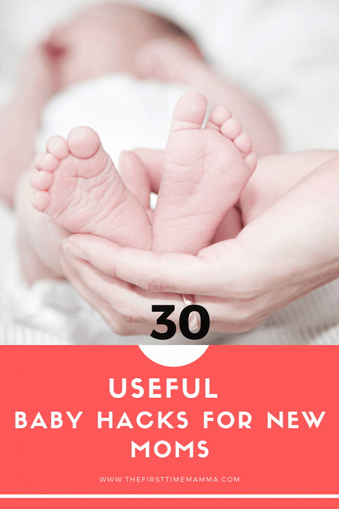 Useful baby hacks for new moms