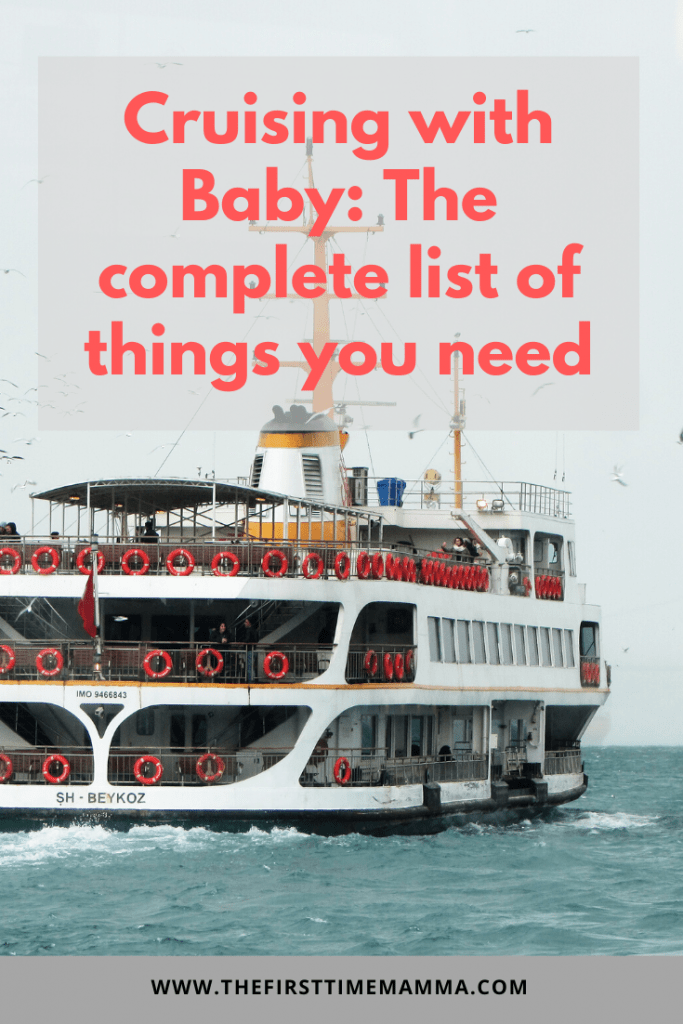 What you need to cruise with a baby