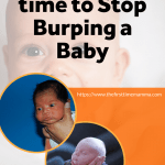When to Stop Burping a Baby