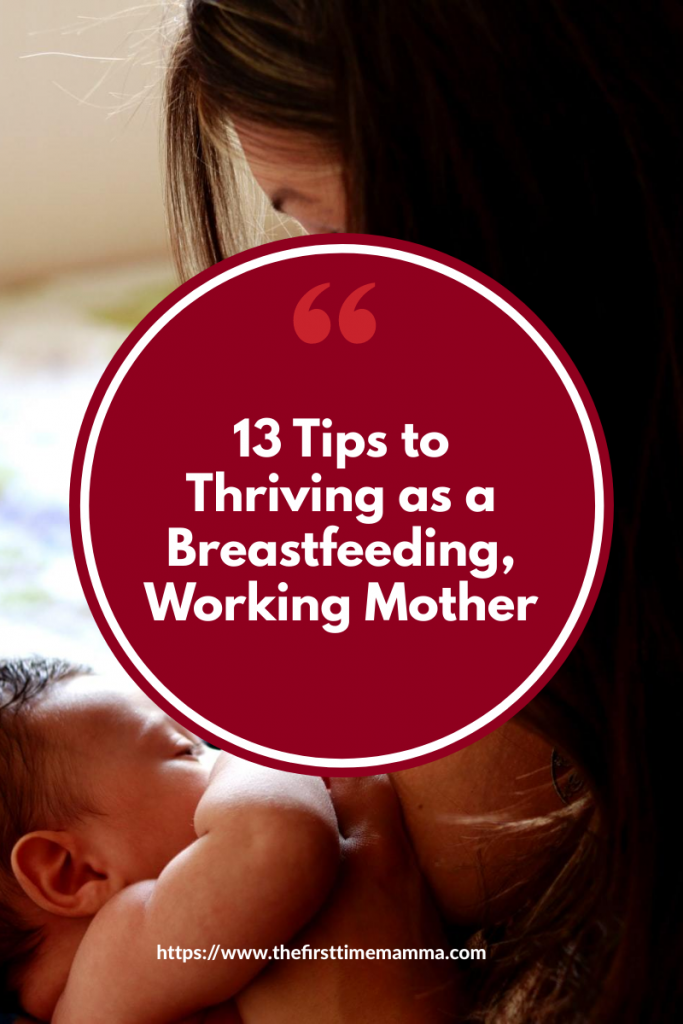 Breastfeeding tips for working moms