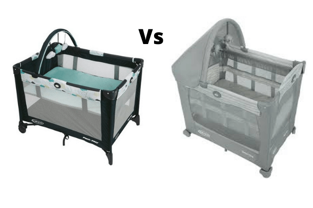 Graco Pack and Go and Travel light crib